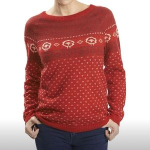 Woolrich crewneck sweater fair isle mohair